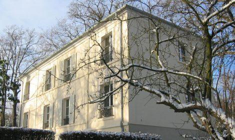 stignani-architecte.fr, rénovation d'une grande maison à Rueil-Malmaison, dans les Hauts-de-Seine, vue latérale