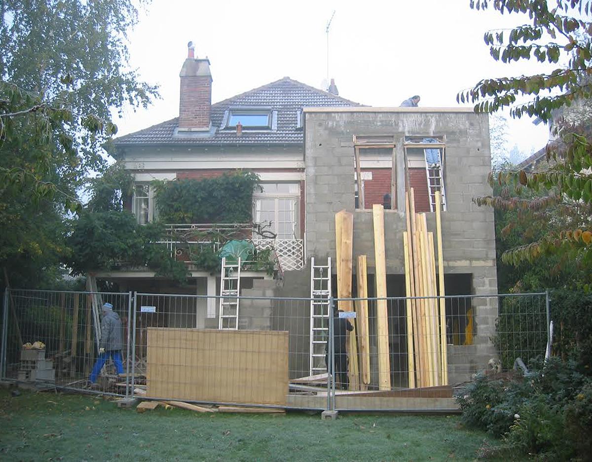 Architecte extension maison meuliere avie home for Architecte extension maison 92